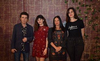 Fernando Cabrera, Bárbara Jorcin, Alexandra Bueno y Elisa Uriarte