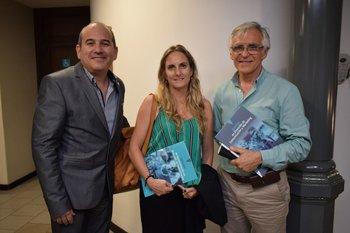 Oscar Aguirre, Florencia Benausse y Carlos Devicenzi