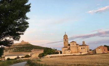 Entre Hontanas y Carrión de Los Condes, provincia de Burgos