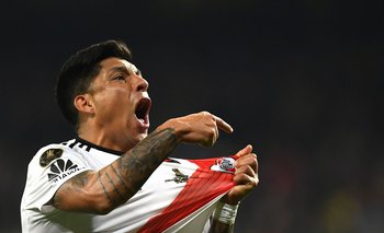 Enzo Pérez se ofreció para jugar de golero este miércoles