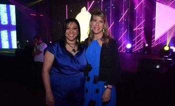 Norma Bueno y Lucia Barbosa