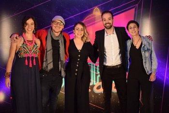 María José Murialdo, Sebastian Nuñez, Leticia Noli, Julián Burel y Romina Polito