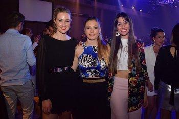 Valentina Levrero, Tamara Urrestarazu y Romina Rivero