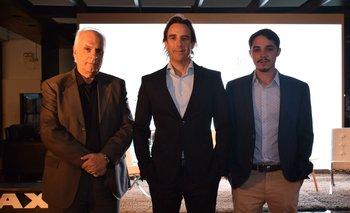 Hugo Burel, Alejandro Curcio y Santiago Tarallo
