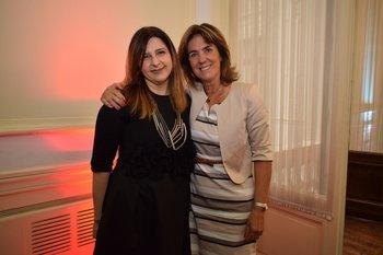 Soledad Izquierdo y Andrewina McCubbin