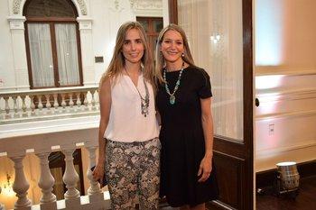 Verónica Gene y Lucia Ottati