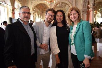 Aler Donadio, Nicolás Wertheimer, Lia Renzini y Silvina Bianco