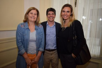 Alexandra Morgan, Francis Coates y Valentina Rico