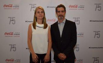 Erica Sirk y josé María Caloglio