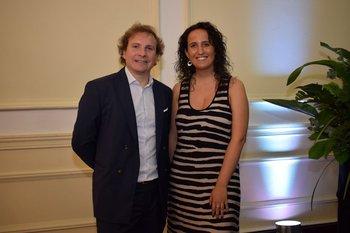 Joaquin Morixe y Lucia Krygier