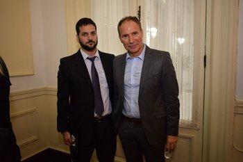 Juan Ottati y Leonardo Coizo