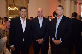 Rodolfo Echeverria, Ulises Queiroz y Pablo Fontana