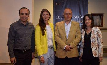 Gonzalo Noya, Ana Inés Maranges, Fabian COito y María Dolores Benavente