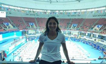 Inés Remersaro tuvo un gran debut en el Mundial de China 2019