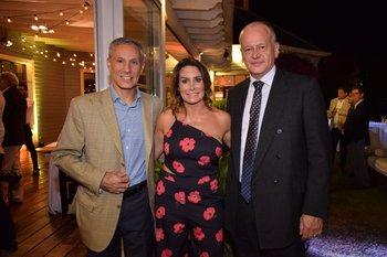 Alejandro Barboni, Gabriela Caletto y Fernando Reggio