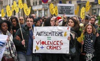 Un 95% de los judíos franceses consideran que el antisemitismo es un problema serio.