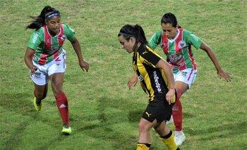 Primera final del Uruguayo Femenino 2018 entre Peñarol y Colón FC