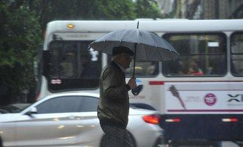 Las tormentas se incrementarán luego del mediodía de este miércoles