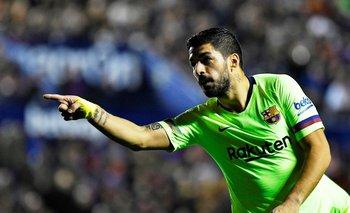 Luis Suárez, y un nuevo gol con Barcelona