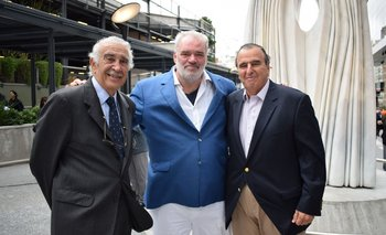 Alegre Sasson, Pablo Atchugarry y Mario Galbarino