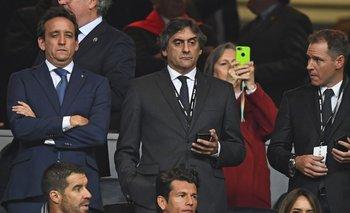 Enzo Francescoli, director deportivo de River Plate