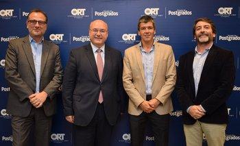 Bruno Gili, gaston Labadie, Guillermo Spinelli y Luis Silva domingo