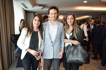 Ana Coronel, Cristina Sosa y Virginia Nuñez