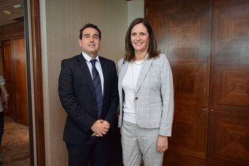 Pablo Brunet y Elisa Facio