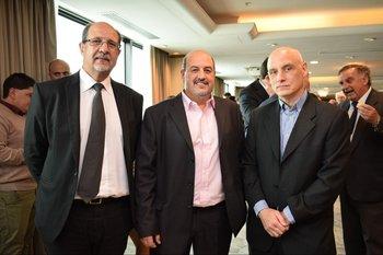 Álvaro Collazzi, Ricardo Niño y Daniel Vilarrubi