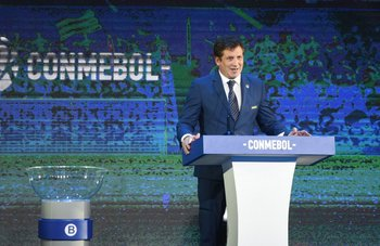 Alejandro Domínguez, presidente de Conmebol