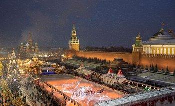 La Plaza Roja, Rusia