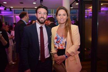 Rodrigo Martinez y Tamara Lev