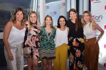 Cecilia Gianoni, Karina Moizo, Paola Rodríguez, Vanesa Vodanovich, Carolina Agulla y Virginia Vidart