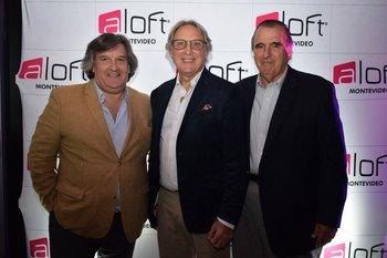 Hebert Lambert, Luis Pedrowicz y Mario Garbarino