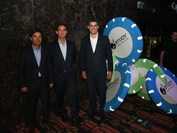 Juan Carlos, Rodrigo Larrain y Javier Azcurra