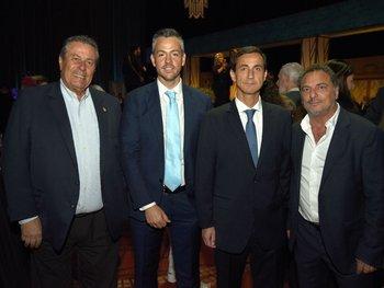 Enrique Antía, Ignacio Sarmiento, Rodrigo Larrain y Andrés Jafif