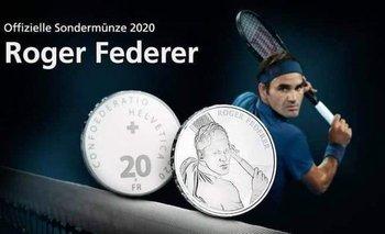 Las monedas de Federer
