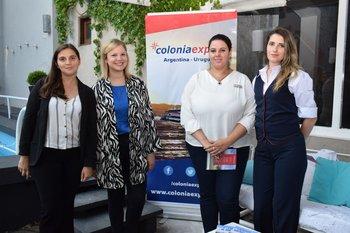 Cecilia Díaz, Leonor Martinez, Jessica Romaso y Ana Marichal