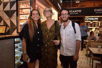Florencia Krygier, Florencia Cohen y Patrick Yaffe