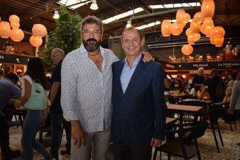 Mario Rybak y Jorge Tocar