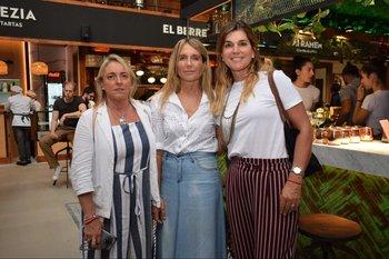 Elena Martinez, Mariela Rodríguez y Fernánda Quintana
