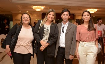 Serrana Varela, Tamara Toledo, Daniel Paciello y Victoria Cuneo