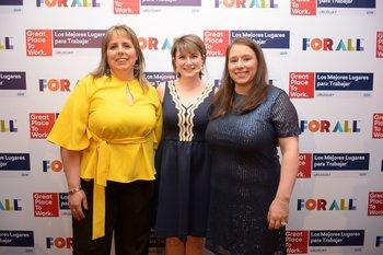 Fedra Féola, Holly Petroff y Karina Urrutia