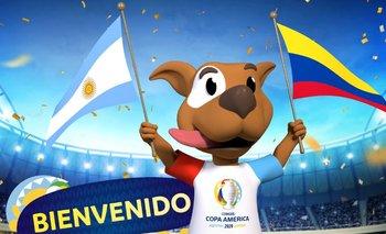 La mascota de la Copa América 2020