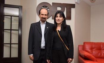Eduardo Ipogrosso y Cristina Bertolotto
