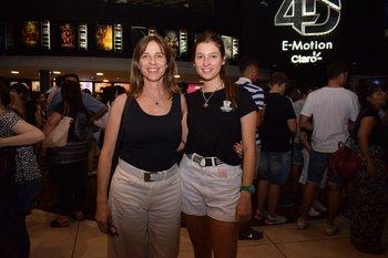 Marcela Lussich y Julieta Castelli