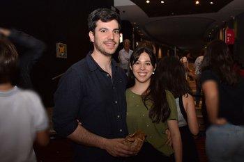 Mariano Portela y Melissa Castro