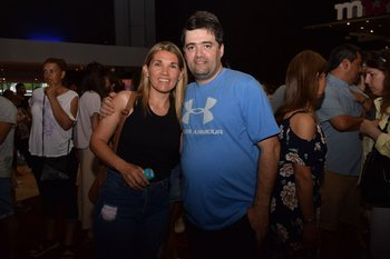 Marta Peluffo y Pablo Pérez