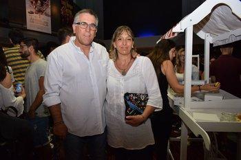 Roberto González y Cecilia Gutierrez