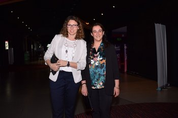 Natalia Moreira y Natalia Avero